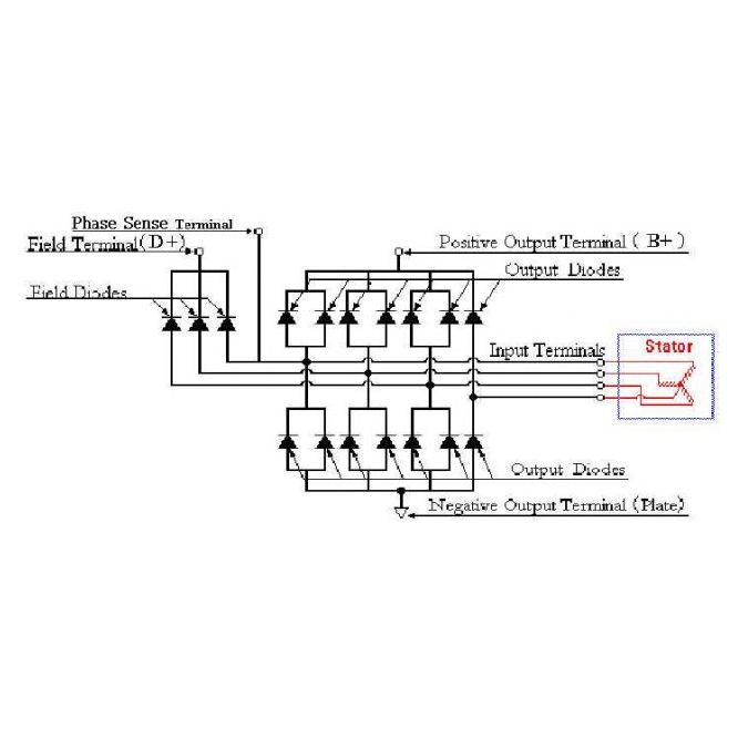 698 - Купить стартер, генератор, запчасти. Ultima Alternator Wiring Schematic on